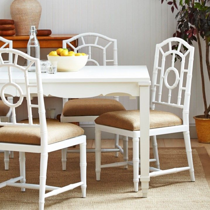 Bungalow 5 Veneto White Dining Table
