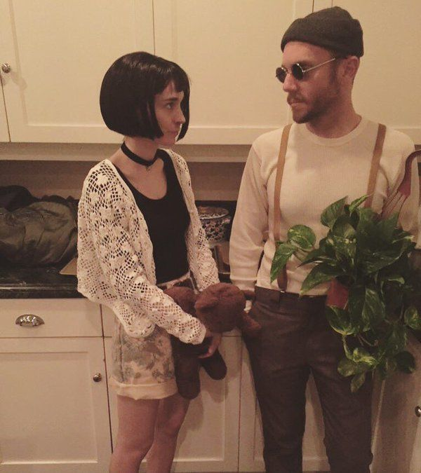 Leon and Mathilda... The professional costumes