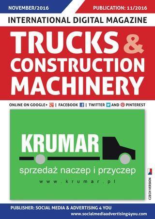 TRUCKS & CONSTRUCTION MACHINERY - November 2016