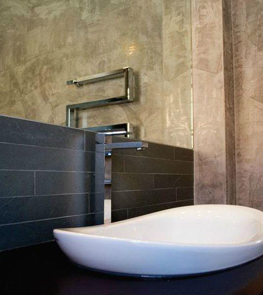 17 migliori idee su bagno in ardesia su pinterest bagni scuri disegni piastrelle da bagno e - Bagno in ardesia ...