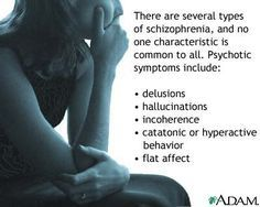 Types of Schizophrenia: Paranoid Subtype; Disorganized Subtype; Catatonic Subtype; Undifferentiated Subtype; Residual Subtype