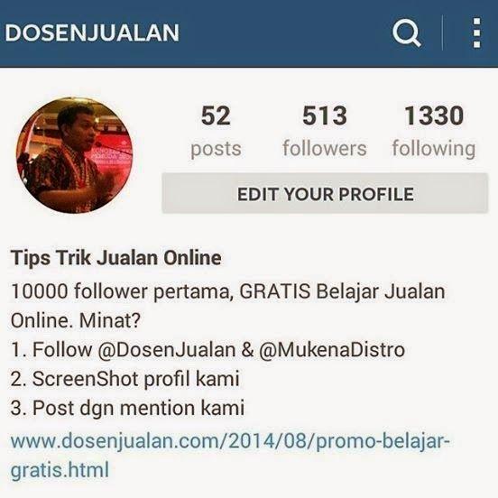 081 327 087 397 | Workshop Tips Jualan Online dengan Instagram bersama DOSEN JUALAN