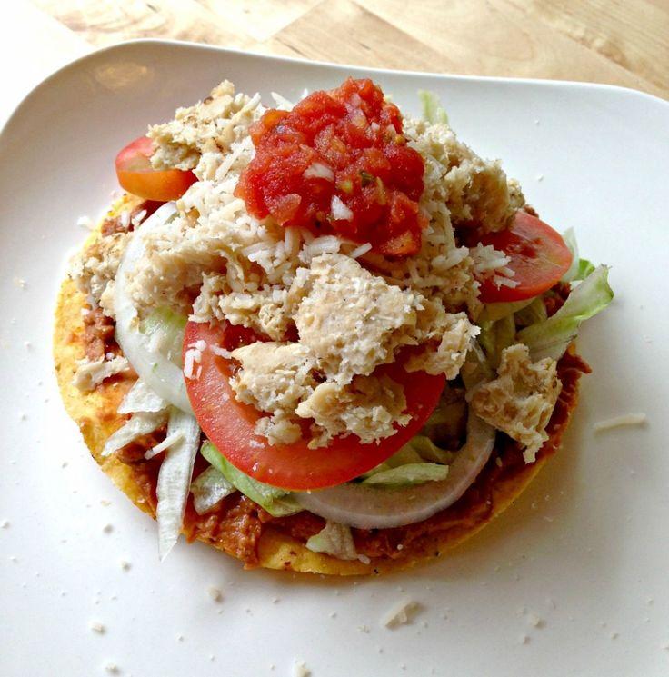 M s de 1000 ideas sobre tostadas de pollo en pinterest - Platos de pollo faciles ...