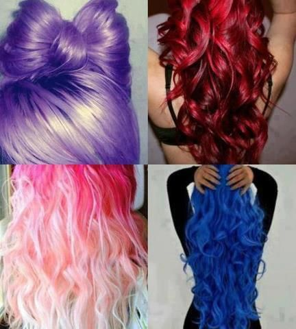 Colorful #hair looks great with #piercings www.bodycandy.com