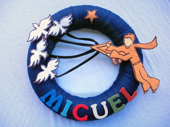 WREATH LITTLE PRINCE le petit prince personalized by COLOR4FUN