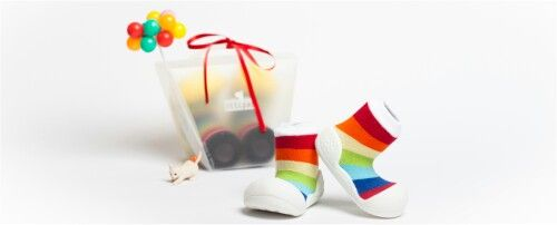Attipas Rainbow White - attipas.pl