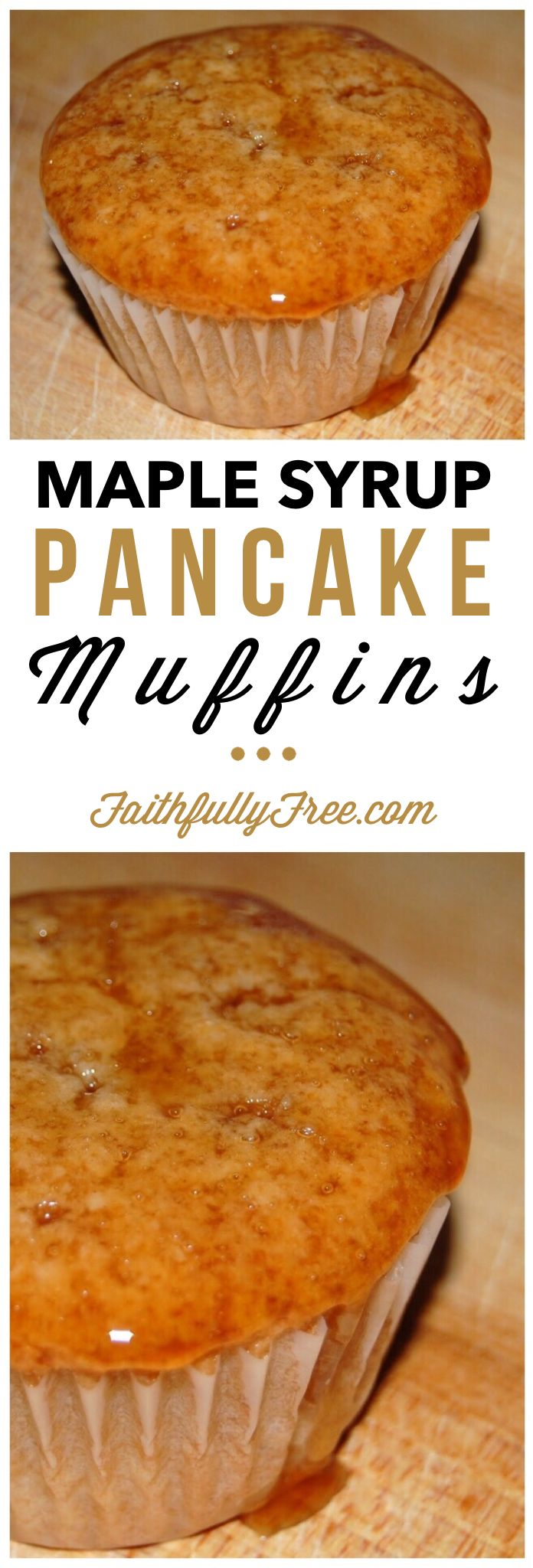Pancake Souffle Muffins With Strawberry-Maple Syrup Recipe ...