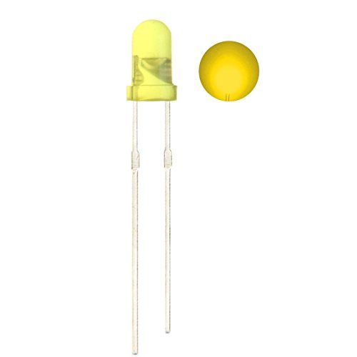 CO RODE 100 Pieces Ultra Bright 3mm LED Diode Light Emitting Diode (Yellow) #RODE #Pieces #Ultra #Bright #Diode #Light #Emitting #(Yellow)