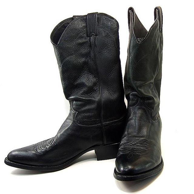 17 best ideas about black cowboy boots on