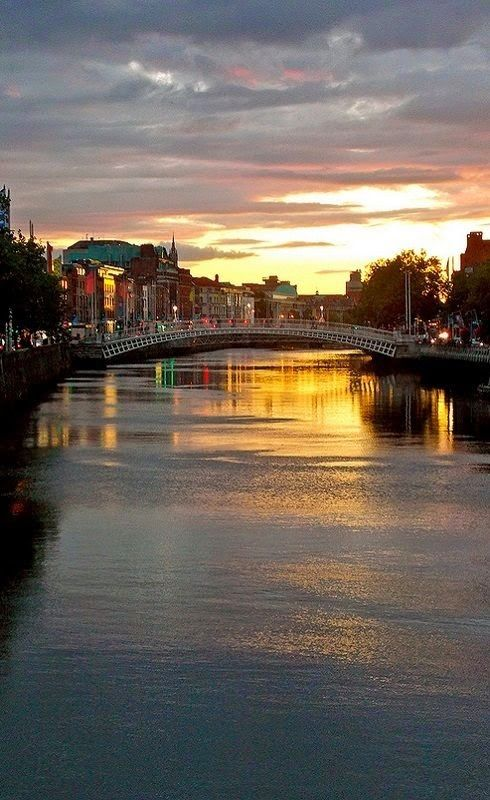 River Liffey, Dublin - Ireland So loved my visit to Dublin | Ireland - Home Of My Ancestors ...