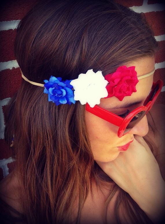 Hey, I found this really awesome Etsy listing at http://www.etsy.com/listing/151838148/all-american-girl-rose-headband