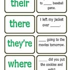 Great upper elementary game to practice homophones. Students will match each homophone to the correct sentence....