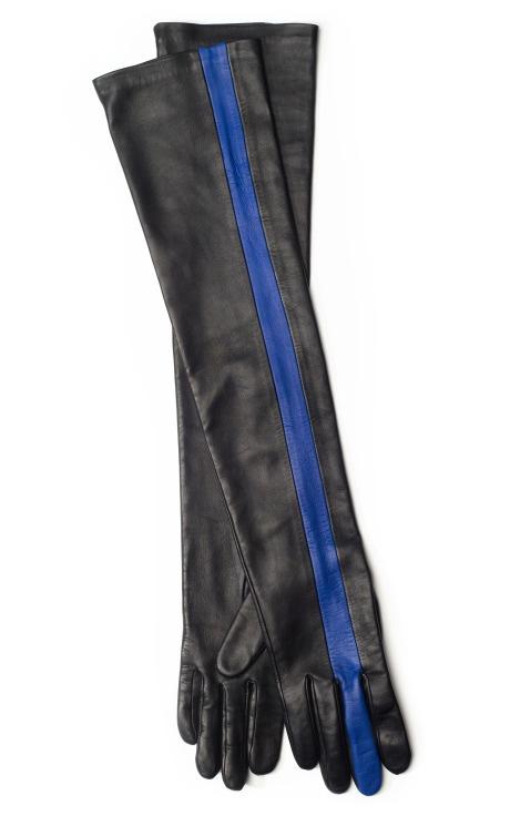 Accessory must! Extended Contrast Stripe Glove $624 @prabalgurung @modaoperandi