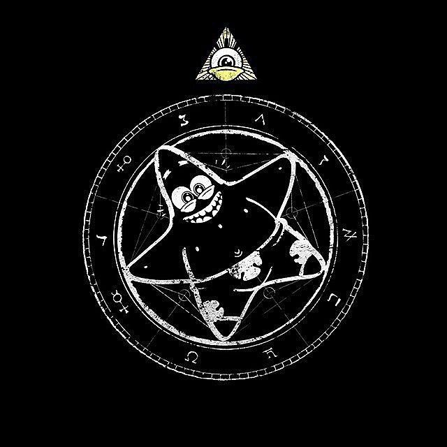BOB AND PATRICK AT CTHULHU BIRTHDAY PARTY (Link in bio)  #squarepants #lol #movie #funny #spongebob #Patrick #Cthulhu #art #horror #Lovecraft #HPLovecraft #tshirt #fashion #art #funny #design #style #clothing #shirt #tee #pentagram #heavymetal #pagan #Satan