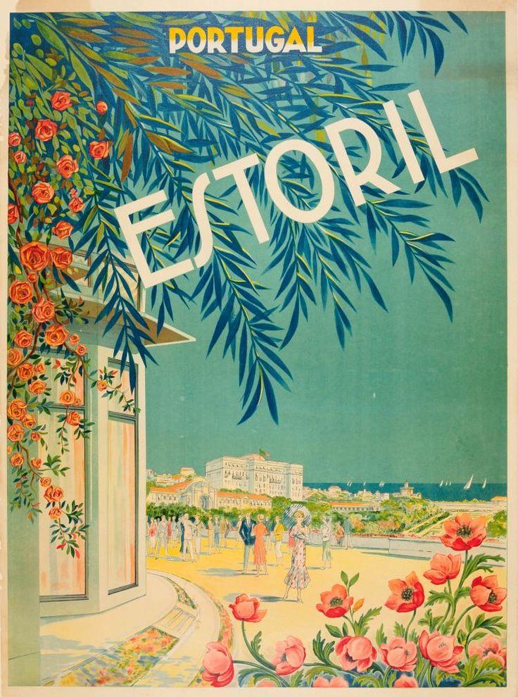Estoril, Portugal - 1920's -