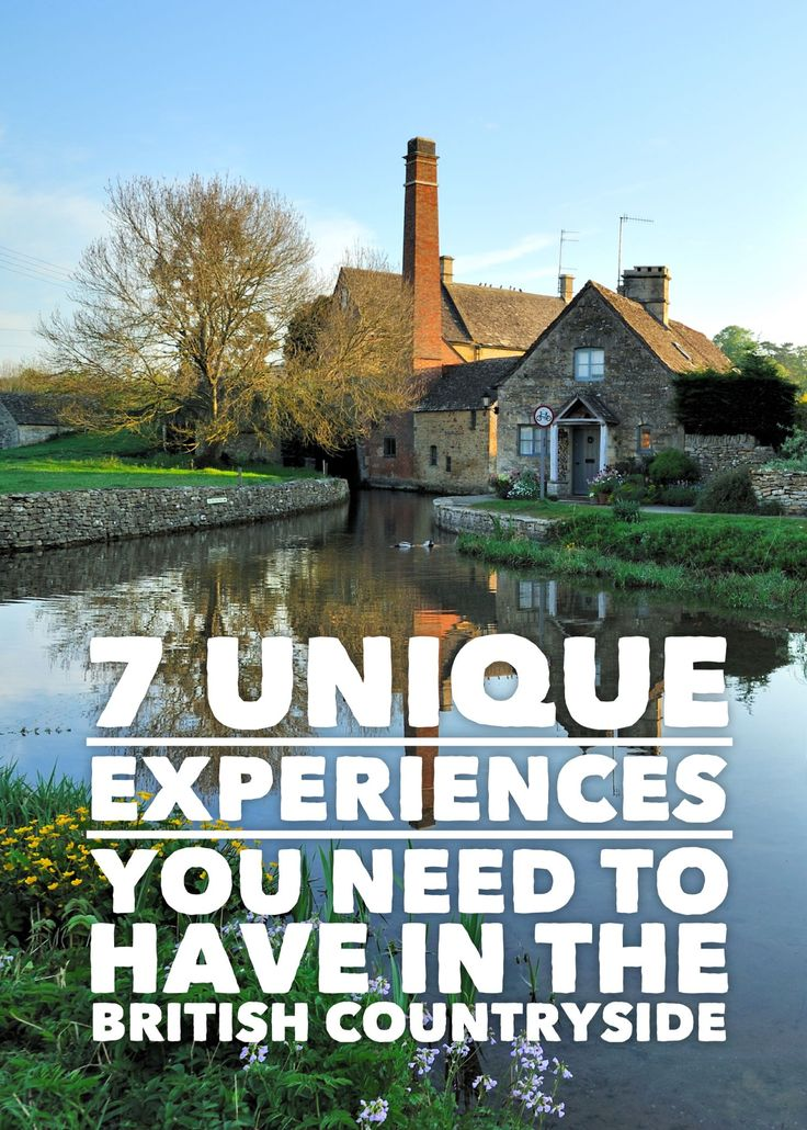 7 Unique Experiences You Need To Have In The British Countryside - Hand Luggage Only - Travel, Food & Home Blog