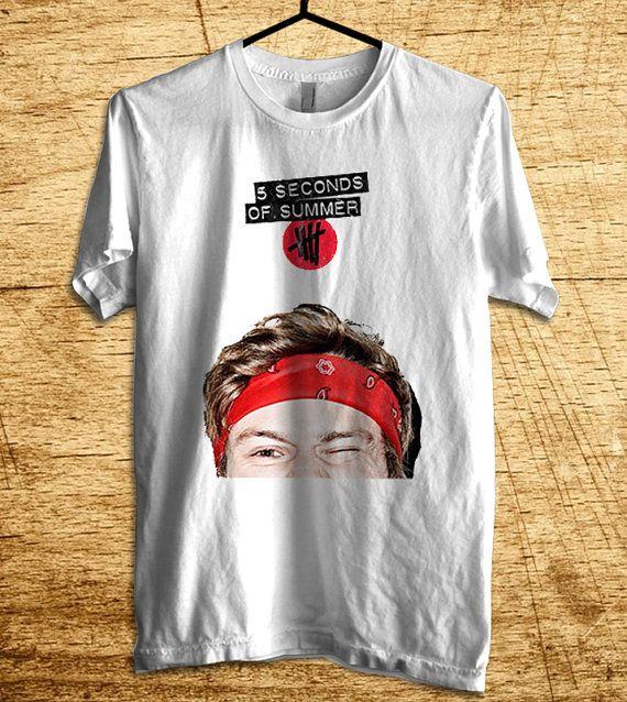 NEW Ashton Irwin Shirt 5SOS Shirt 5 Second Of Summer T by MalaAkfa, $18.00