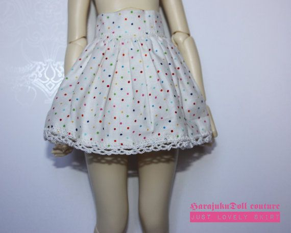 HarajukuDoll short skirt with crochet borders by killingsissy