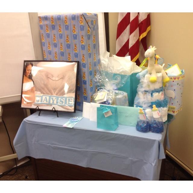 Baby Boy Baby Shower At Work   Baby Shower Ideas   Pinterest   Boys, Baby  Boy And Boy Babies