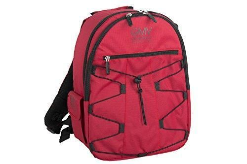 Oferta: 59.5€. Comprar Ofertas de Mochila GIANMARCO VENTURI bolsa para cámara réflex y accesorios rojo M269 barato. ¡Mira las ofertas!