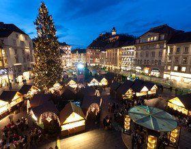Advent Christkindlmarkt am Hauptplatz © Graz Tourismus - Harry Schiffer