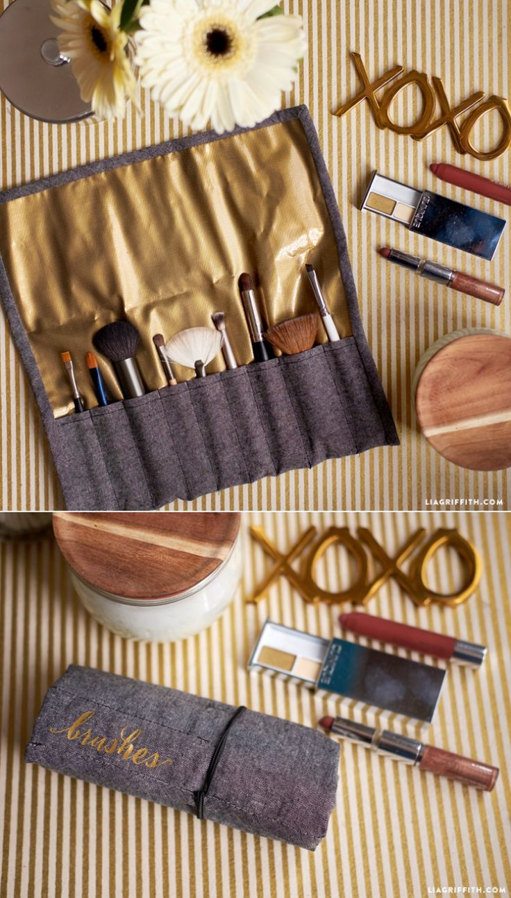 #makeupcase #easysewing #travelaccessories www.LiaGriffith.com: