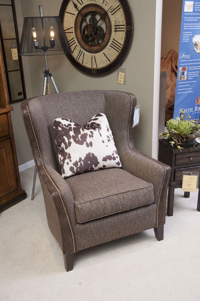 Smith Brotheru0027s 825 Wing Back Chair