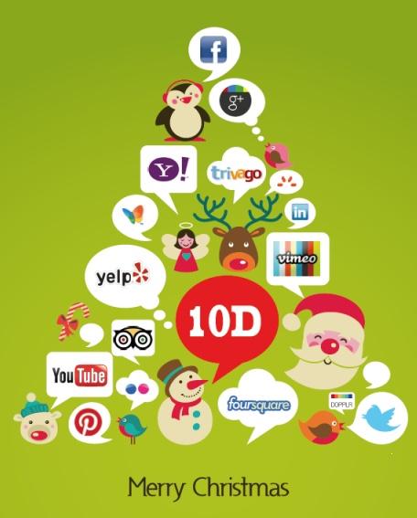 Ecco la bozza dei nostri bilietti di Natale 2012