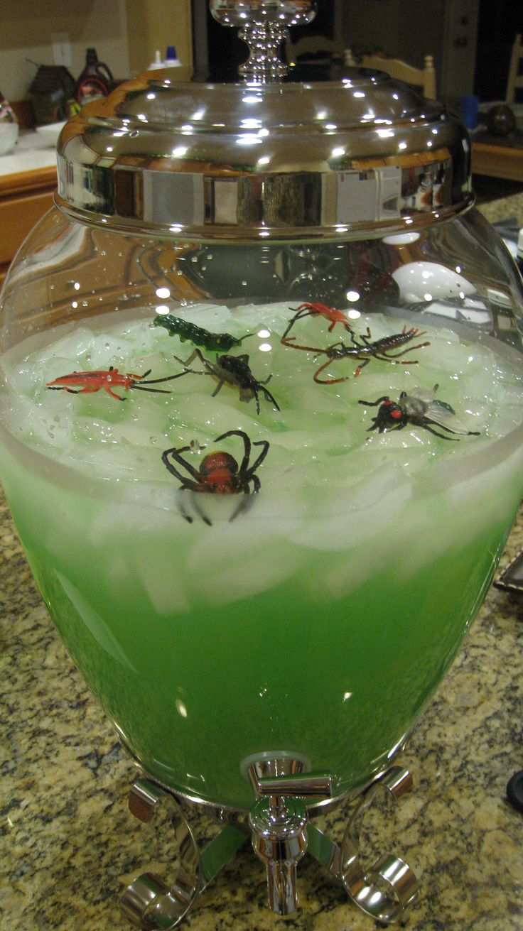 i hosted a jungle party for my daughter and her friends i decorated my dining room in a jungle theme i think this is more halloween than jungle - Halloween Party Punch Alcohol