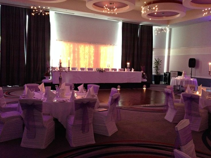 The LED backdrop stands out in pictures http://www.carltonhotelblanchardstown.com/weddings