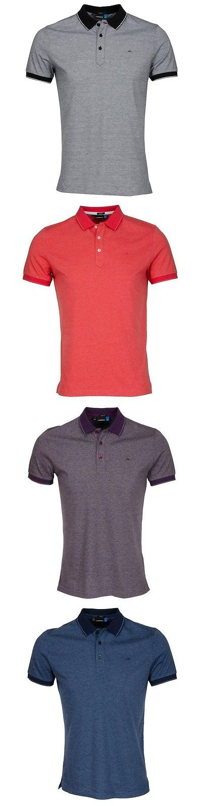Shirts Tops and Sweaters 181138: J.Lindeberg Regis Lux Stripe Jersey Mens Golf Polo-Slim Fit–Multiple Colors-New -> BUY IT NOW ONLY: $59.99 on eBay!
