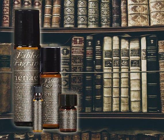 Athenaeum Perfume With Paper Leather Powder Texas Cedarwood