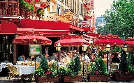 Paris Street Cafes.