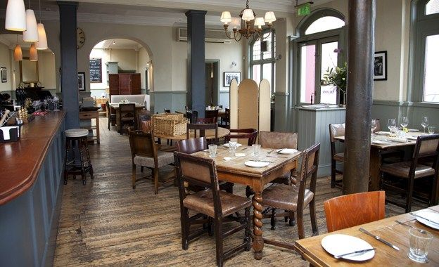 The Harwood Arms, a one Michelin starred gastropub in London. On the 'to do' list