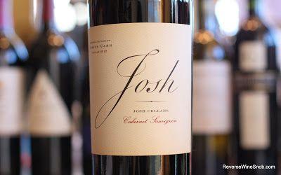 The Reverse Wine Snob: Josh Cellars Cabernet Sauvignon 2011 - Say Hello To Your New Value Cab. http://www.reversewinesnob.com/2013/11/josh-cellars-cabernet-sauvignon.html