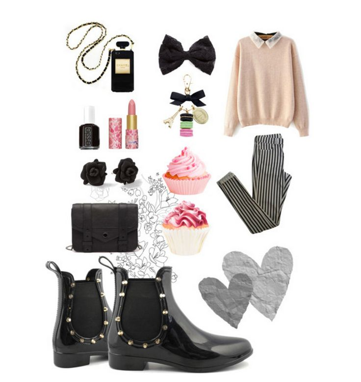 Pink Pastel Punk #outfit #colorsofcalifornia