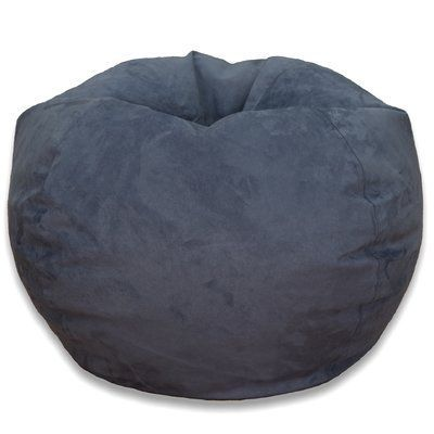 Bean Bag Chair Upholstery Washed Blue
