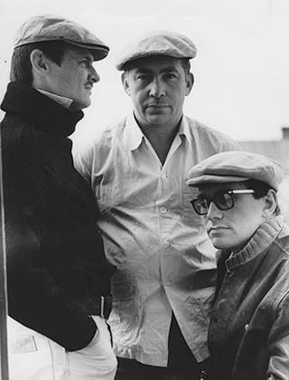 """Тарковский, Юсов, Кончаловский. """"Андрей Рублев"""". 1965"""