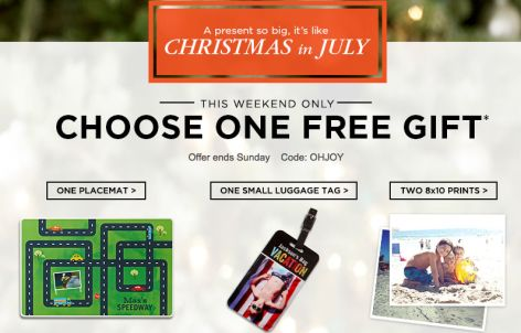Shutterfly: FREE Placemat, Small Luggage Tag or 2 8x10 Photo Prints (Last Day) - Raining Hot Coupons