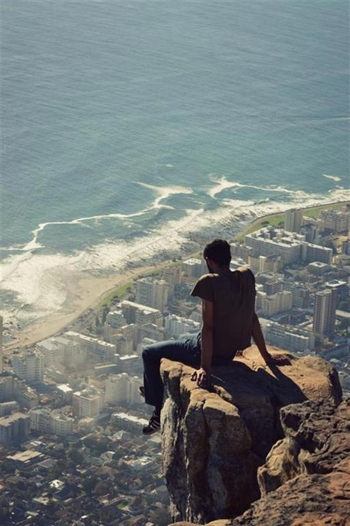 Lion's Head, Table Mountain National Park. Cape Town, South Africa.