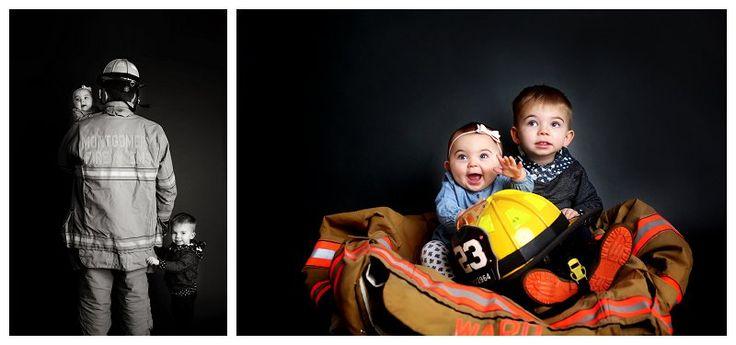 Baltimore Family Photographer , firefighter, fireman, firefighter photos.