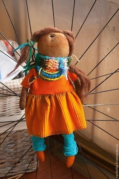 """Ароматизированные куклы ручной работы. Ярмарка Мастеров - ручная работа Примитивная кукла """"Встречая рассвет"""". Handmade."""