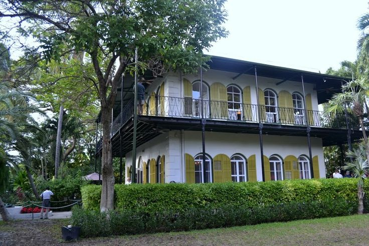 Ernest Hemingway House, Key West, Florida (Ки-Уэст, Флорида: Дом Эрнеста Хемингуэя)