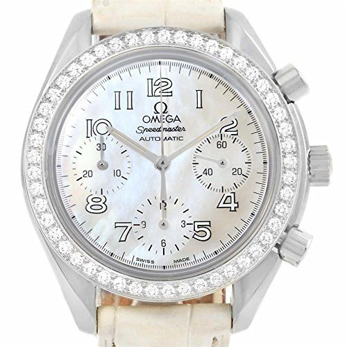 Omega Speedmaster automaticselfwind womens Watch 38157036 Certified Preowned * R...