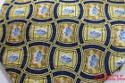 "Viagra Pfizer Neck Tie Yellow Blue Pill 59"" 100% Silk New Men Necktie"