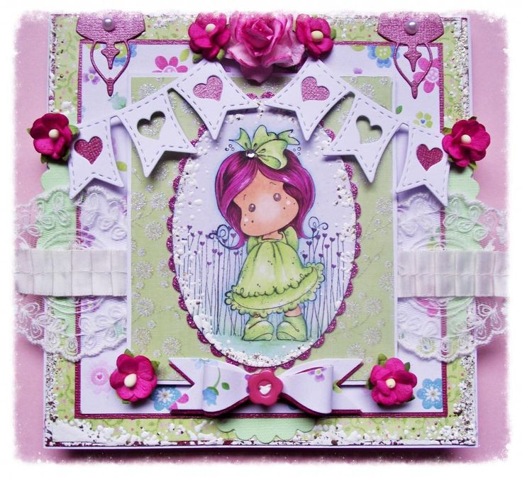 Magnolia Tilda any occasion card
