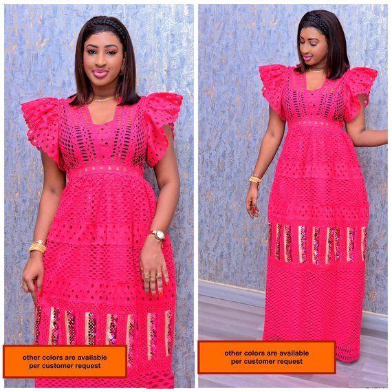 Kleid der afrikanischen Frauen / afrikanische Klei…