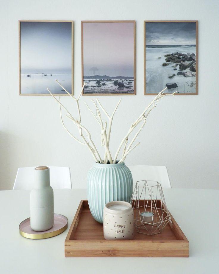 Die Vase Hammershøi passt perfekt in dieses skand…