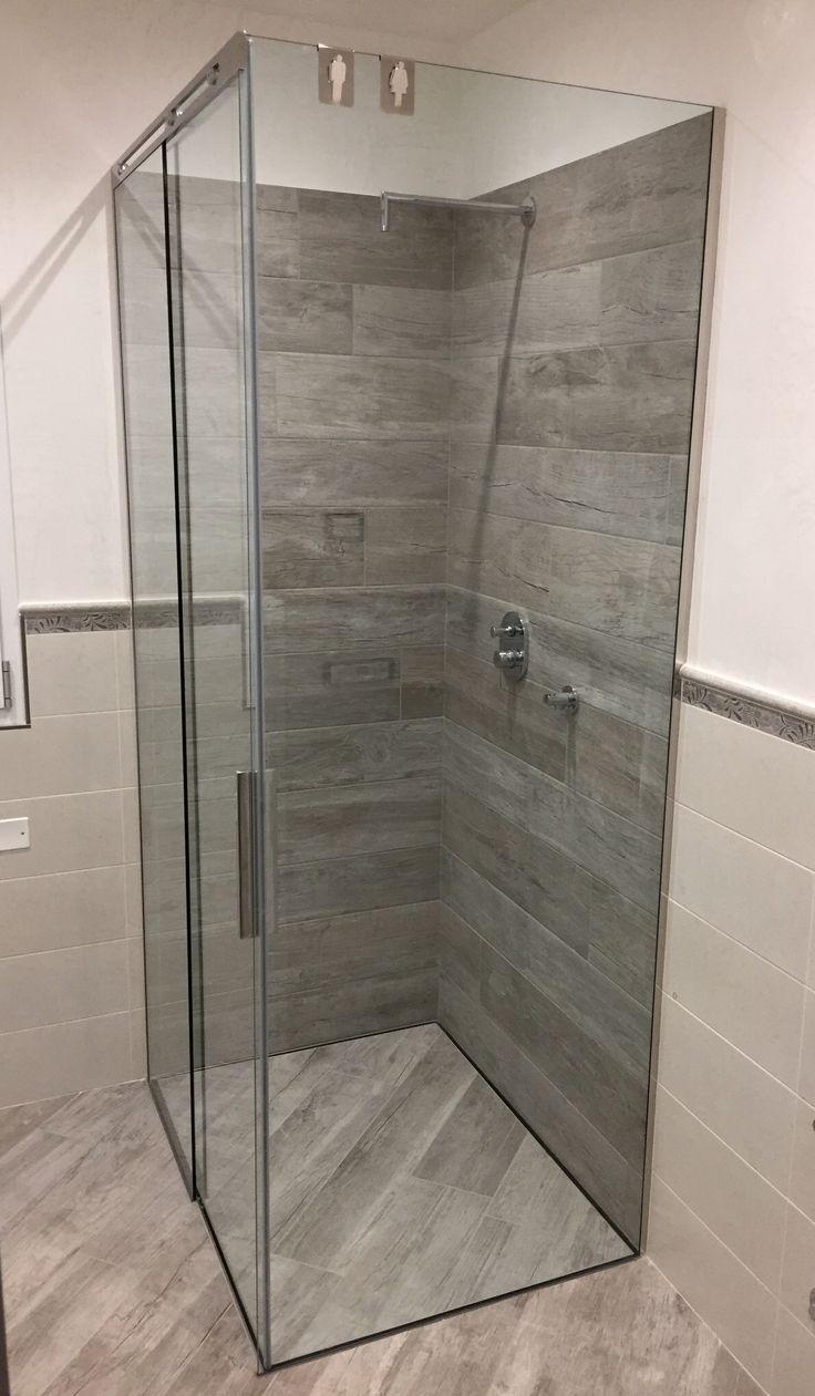 18 melhores imagens de box doccia scorrevole no pinterest teca - Piatto doccia incassato nel pavimento ...