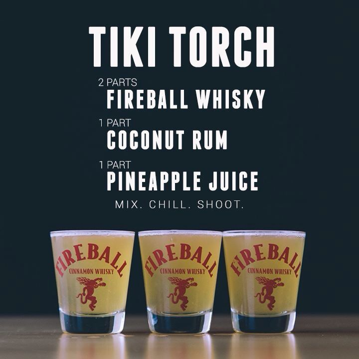 Tiki Torch - I can't imagine what this might taste like. Guess that means it…